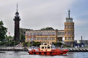 Kapitanat Portu Gdańsk i zabytkowa latarnia
