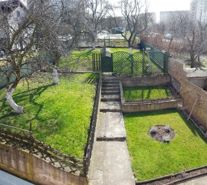 widok z balkonu, pokój #1 & #2